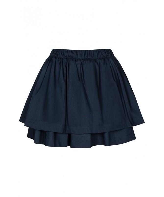 Dwuwarstwowa spódnica z popeliny
