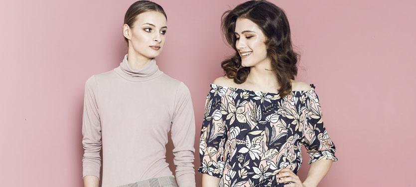Sukienka i bluzka preska kolekcja lato 2018
